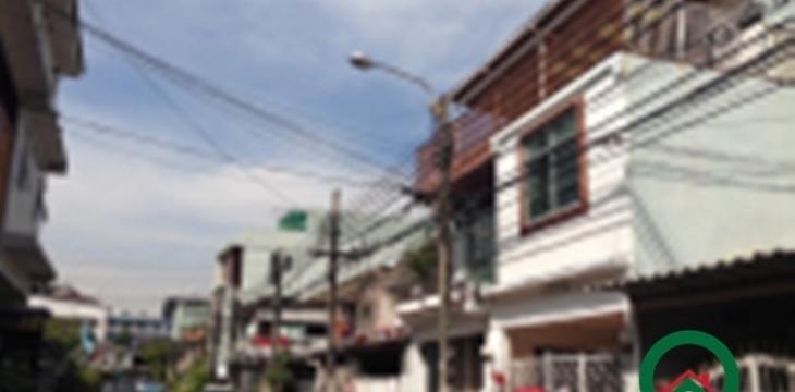 ขายทาวน์เฮ้าส์ ซอยชานเมือง(นาทอง)ถนนรัชดาภิเษกซ.7